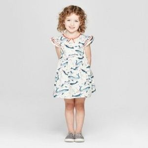 Toddler Girl Flutter Sleeve Dress